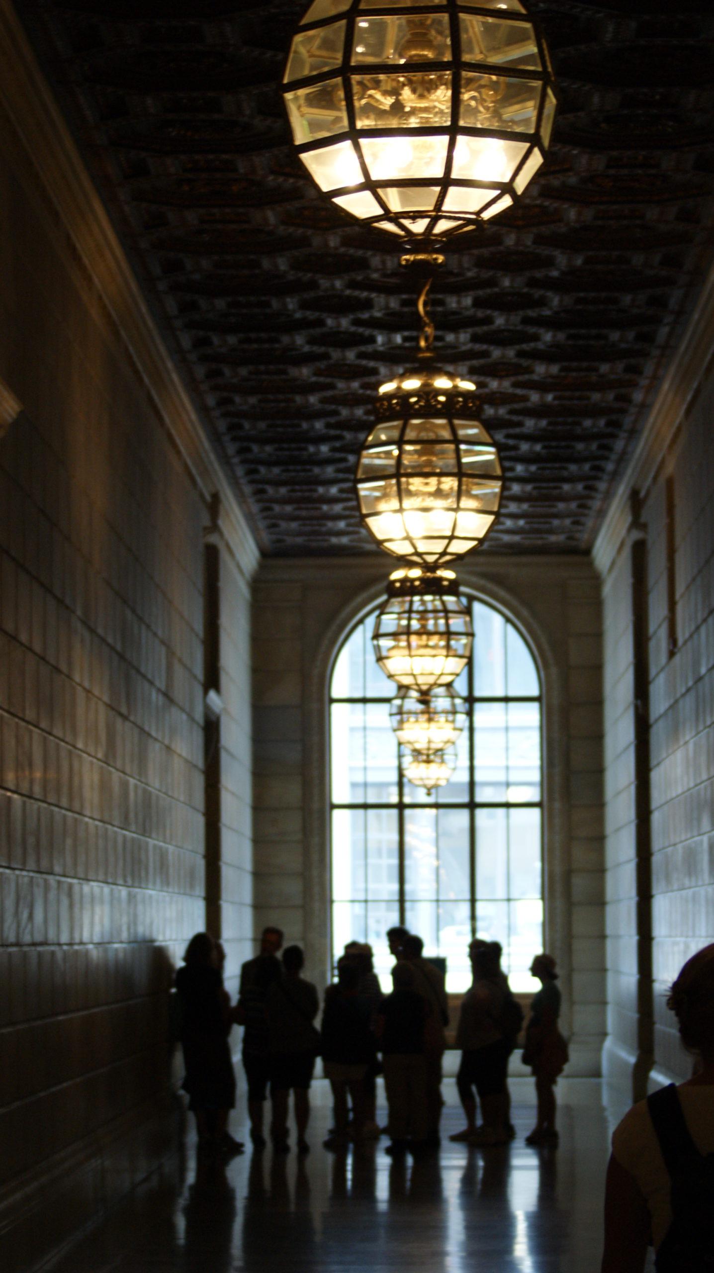 Pierwsze piętro biblioteki New York Public Library