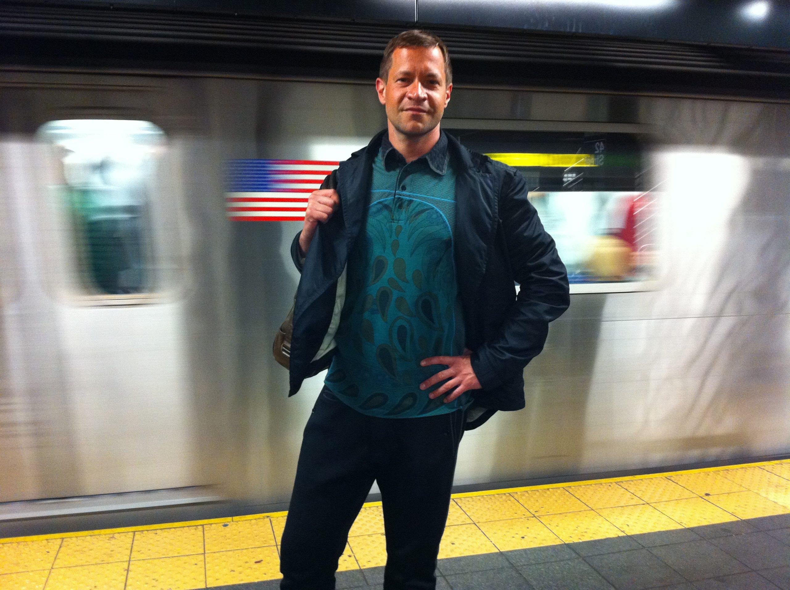 W nowojorskim metrze