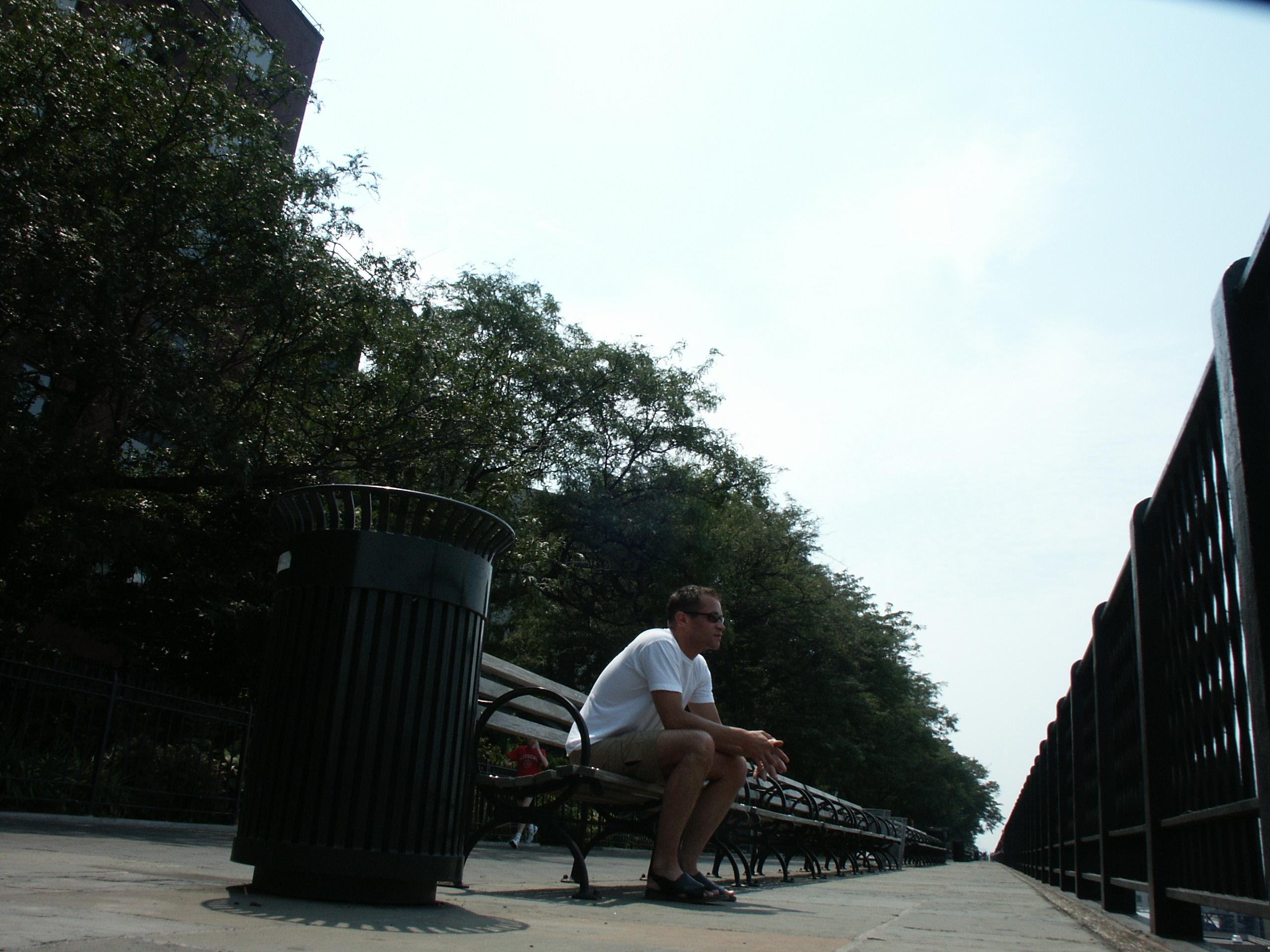 Brooklyn Heights, nawiązanie do kadru z filmu 25 godzina