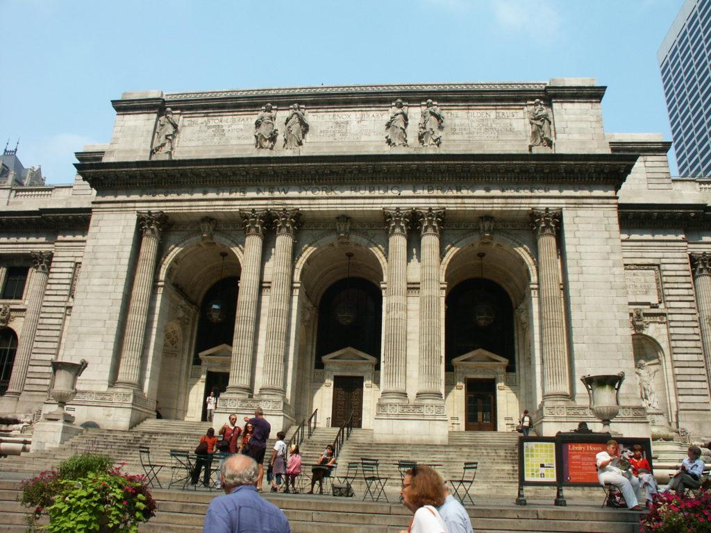 Budynek Bliblioteki New York Public Library