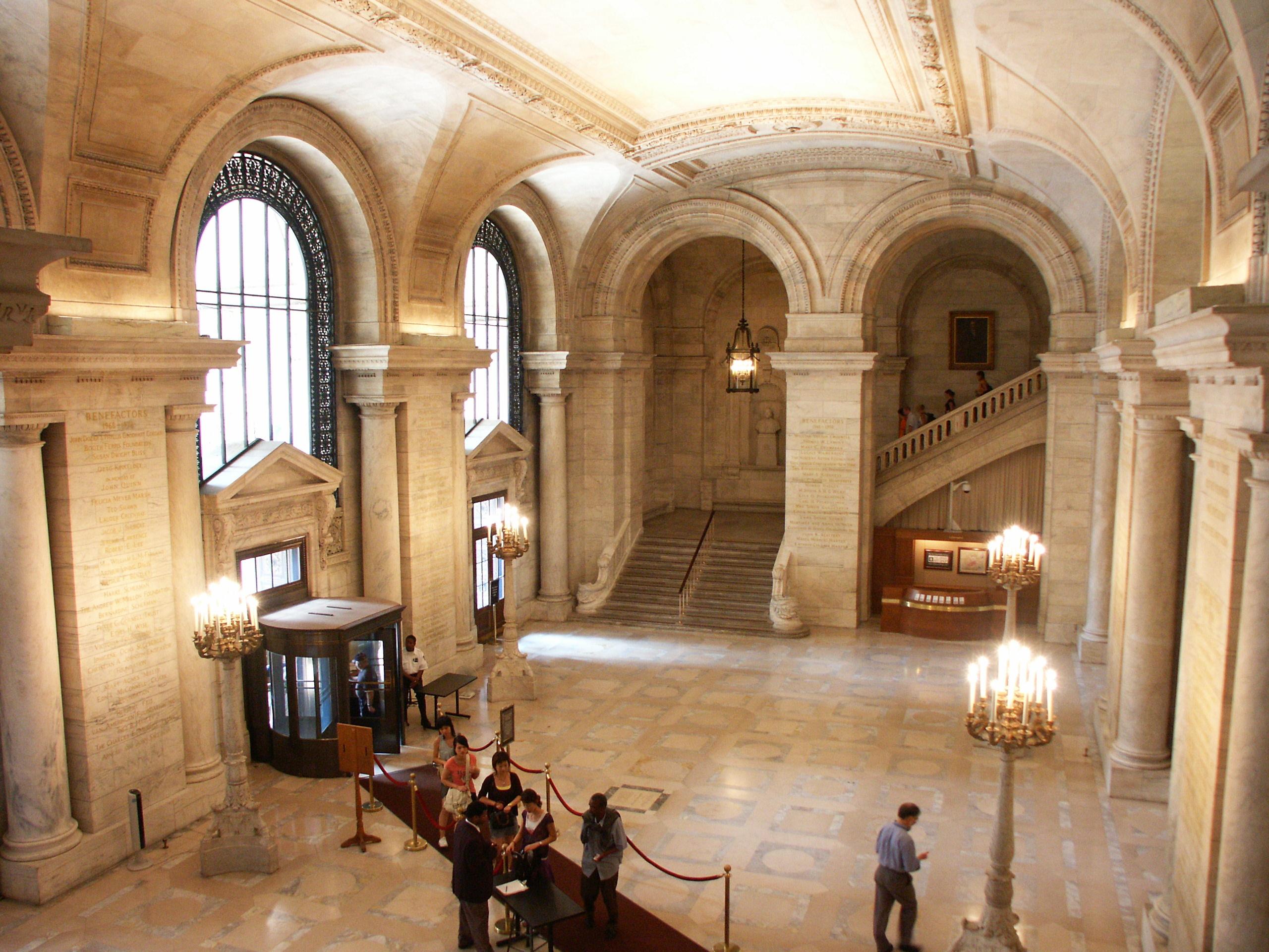 Hall główny New York Public Library