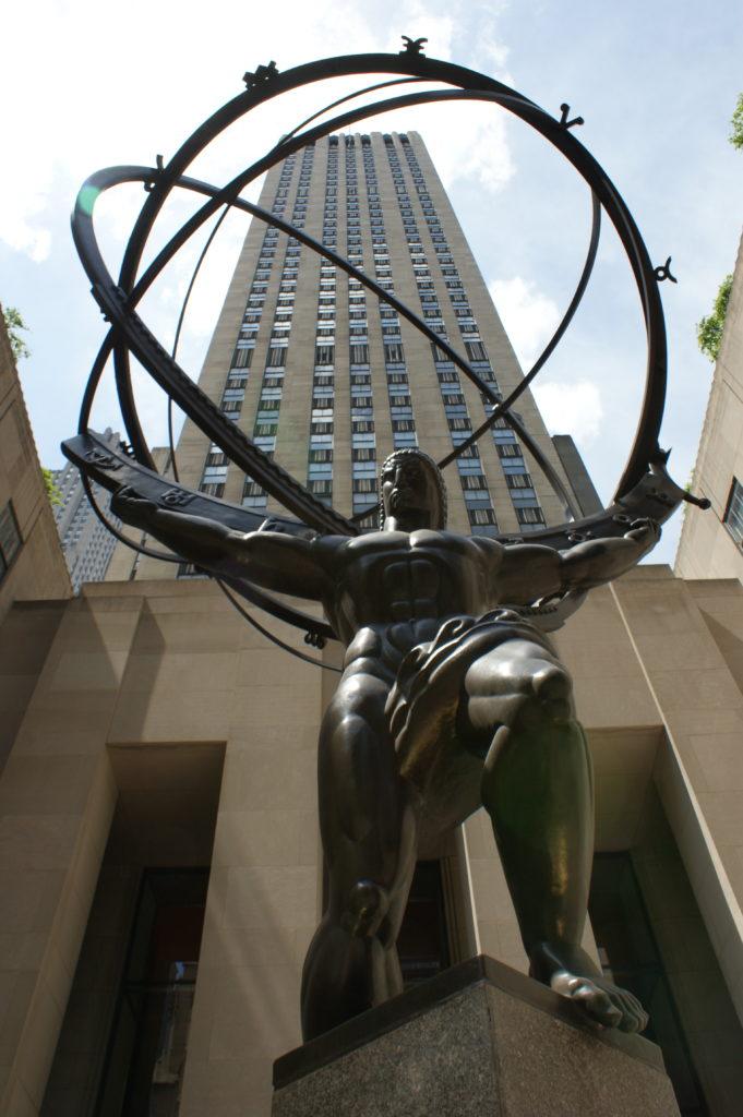 Atlas w Rockefeller Center