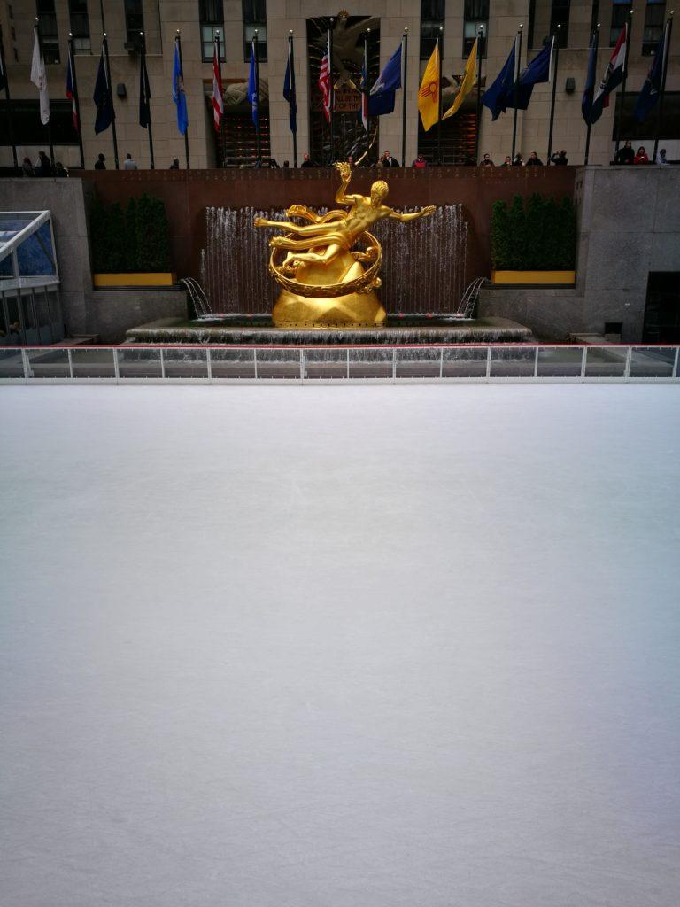 Lodowisko przy Rockefeller Center