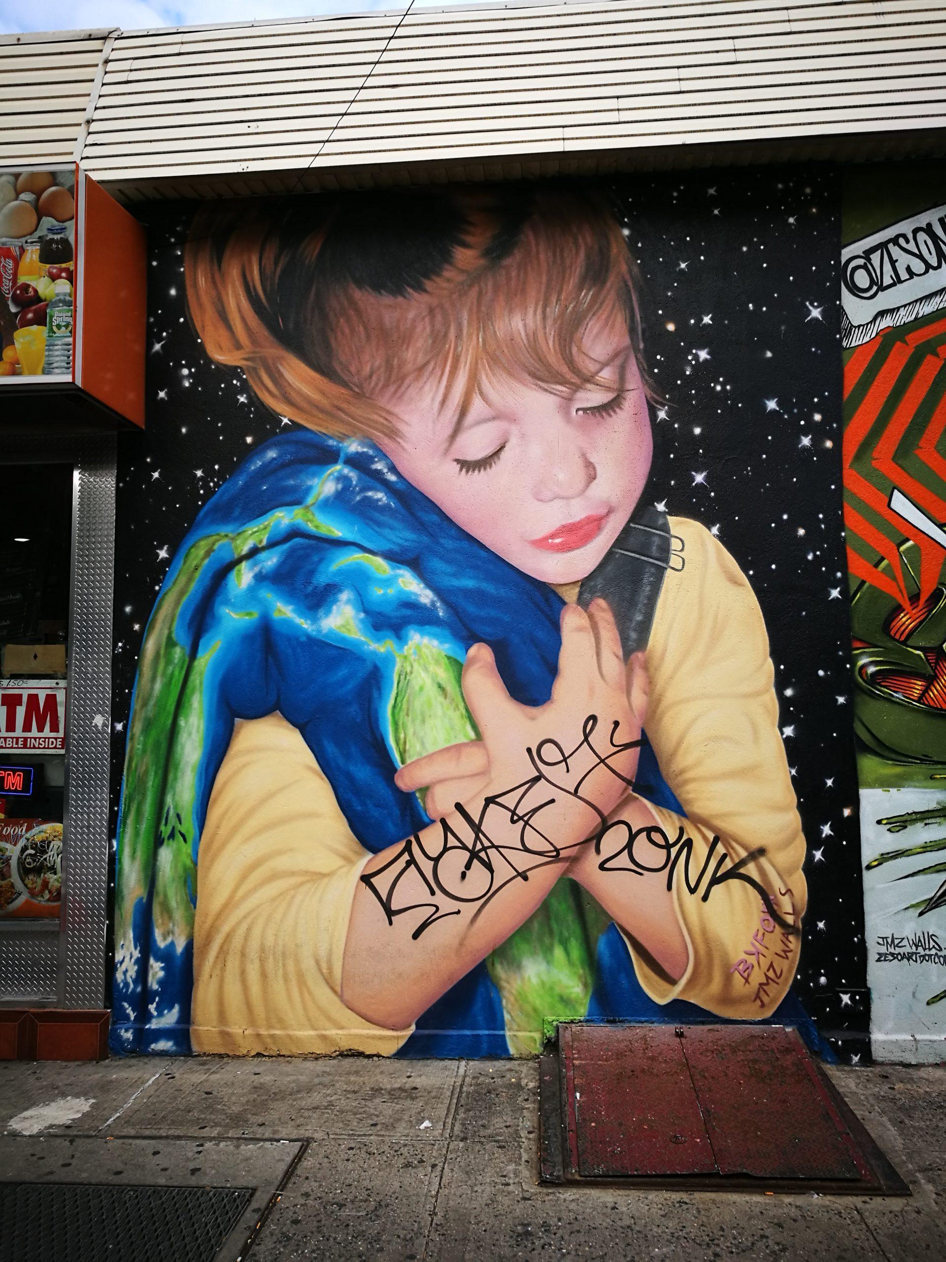 Graffiti na Brooklynie
