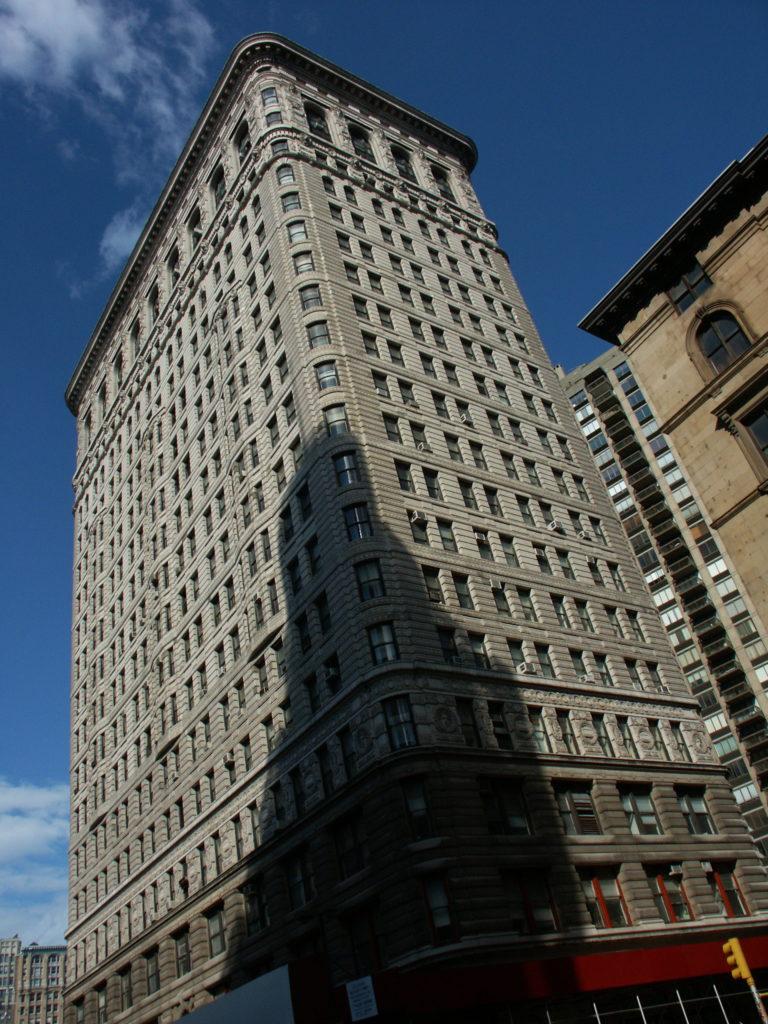 Tył Flatiron Building