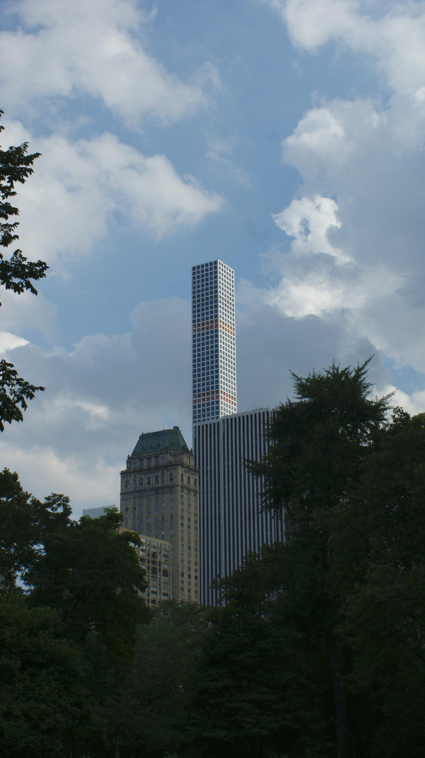 Drapacze chmur Manhattan